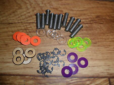 Lot Of 10 Tattoo Machine Coil Cores,Washers & E-Clips!!