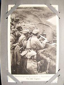 ALBUM 66 FELDPOSTKARTEN 1. WELTKRIEG AB 1915 GELAUFEN MILITARIA KRIEG VOGESEN