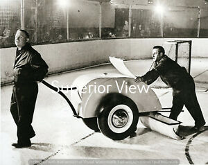 Detroit Red Wings Olympia Stadium Detroit Michigan Olympia Ice Cleaning Machine