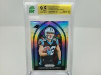 2017 Panini Prizm Stained Glass #4 Christian McCaffrey RC Rookie Mint+ MNT 9.5
