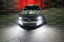 White 6000k Front LED Parking Lights Side Marker Bulbs for 2017 Ford Mustang