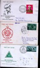 3 INDIA FDC COVERS, 1960-1959 YEAR