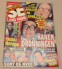 "Luke Perry Beverly Hills Dylan McKay Vintage Danish Magazine 1994 ""Se og Hoer"""