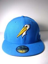 New Era Men's Myrtle Beach Pelicans 59FIFTY Fitted Hat New Blue Size 7