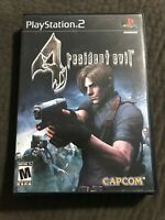 Resident Evil 4 *Playstation 2* Complete w/ Manual