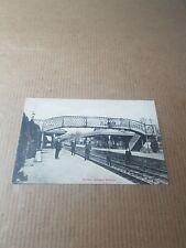 More details for old postcard. surrey.  horsley railway station.   l/3172