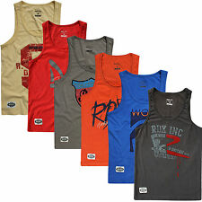 RDX Mens Top Gym Tank BodyBuilding Stringer Workout Vest TShirt Fitness Boxing D