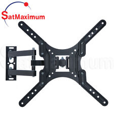 """TV Wall Mount 23"""" - 55"""" FULL MOTION Adjustable TV Bracket Up To 66Lb 23-55in LCD"""