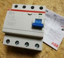 ABB F204A 100/0,1 FI-Schutzschalter Typ-A 100A 100mA 4-polig 2CSF204101R2900