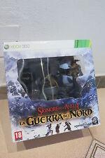 XBOX 360 IL SIGNORE DEGLI ANELLI LA GUERRA DEL NORD Collector's Edition ! STATUA