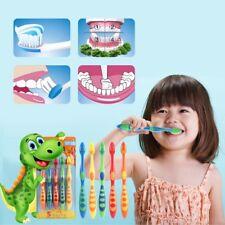 5pcs/lot Cartoon Bear Soft Children Toothbrush Oral Hygiene Care For Kids