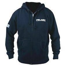 Pelagic High Performance Deluxe Logo Full Zip Hoody in NAVY Extra Large XL