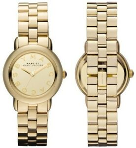 Womens Marc Jacobs MBM3174 Mini Marci Gold Watch RRP £299