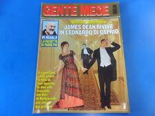 GENTE MESE N° 5 MAGGIO  1998 - JAMES DEAN - LEONARDO DI CAPRIO