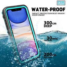 For iPhone 11 Pro Max Waterproof Case Life Dirt Proof Full Protective Hard Cover
