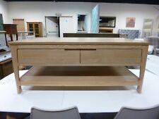 New Contemporary Oak 2 Drawer Two Tier Coffee Table *Debenhams Nord*