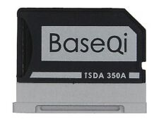BaseQi 350a 100 Hidden Aluminum MicroSD Adapter for Microsoft Surface Book