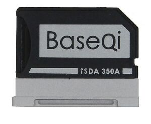 "MicroSD Adaptor for Microsoft Surface Book 3 & 2 (13.5"")  BASEQI 350A Aluminium"