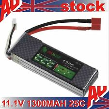 Hot 11.1V 1300MAH 25C Polymer lithium ion battery for Helicopter RC plane toy OZ