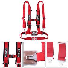 Universal 4-Point JDM RASTP Car Auto Racing Sport Seat Belt Safety Harness Strap
