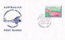 Permanent Commerative Pictorial Postmark - Swansea 18 Apr 1996 - 45c