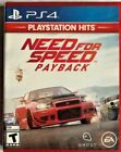 NEED FOR SPEED PAYBACK PS4 PlayStation 4 PlayStation Hits Brand New Sealed