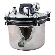 stainless steel Dental Autoclave Steam Sterilizer Pressure Sterilization 8L
