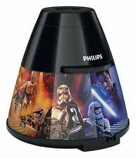 Philips LED Star Wars Episode VIII Children's Night Light and Projector, Black