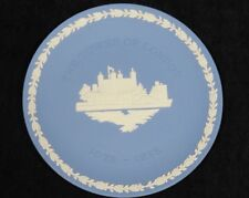 Wedgwood Blue Jasperware Collector's Plate The Tower of London 1978 Anniversary