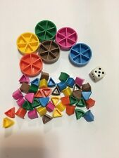 Trivial Pursuit GENUS 4 IV Board Game Replacement Parts/Pieces-Scoring Wedges