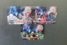 MARVEL  VIBRANIUM  2015 UNIVERSAL HEROES LOT OF 3 DIFFERENT UH-1 UH-10 UH-12