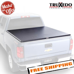 """TruXedo 271101 Soft Roll-Up Tonneau Cover for 2007-2017 Chevy / GMC - 6'5"""" Bed"""