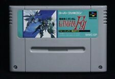 Kidou Senshi Gundam F91- Japan SNES SFC Nintendo Super Famicon GAME ONLY