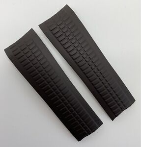 Authentic Patek Philippe Aquanaut 21mm x 18mm Brown Rubber Watch Strap C74 OEM