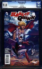 Harley Quinn 12 CGC 9.8 WP Modern Age DC Comic (2014) IGKC L@@K