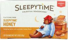 Sleepytime Honey Tea, Celestial Seasonings, 20 tea bag 6 pack