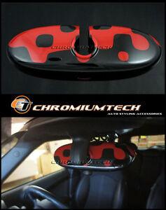 Mini Cooper/S / Uno R52 R55 R56 R57 R60 Acceso Rosso Retrovisore Interno Cover