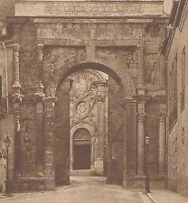 G2012 France - Besançon - Arc de triomphe - Stampa d'epoca - 1932 Old print