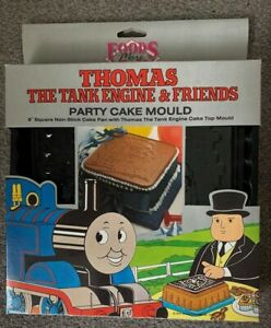 Thomas Tank Engine And Friends Cake Mould And Topper Vintage 1983 Boxed  New