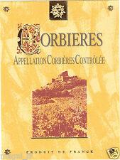 Etiquette de vin - CORBIERES (165)
