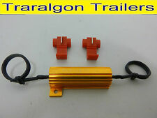 LED load resistor 24v lights front & rear indicators truck car trailer K122