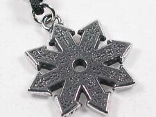 The Star of Chaos, Handmade pewter pendant, Power success,justice