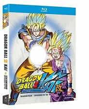 Dragon Ball Z Kai . The Complete Season 4 . Dragonball . Anime . 4 Blu-ray . NEU