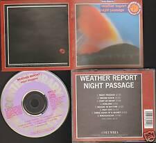 WEATHER REPORT NIGHT PASSAGE Joe Zawinul NEW CD REMAST