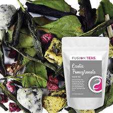 Exotic Pomegranate White/Green Tea with Dragonfruit - Loose Leaf - Fusion Teas