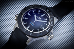 Glycine Combat Aquarius ref. 3946.199.D9 Black Automatic Watch - GL0039