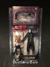 Mattel DC Comics Movie Masters The Dark Knight Joker Heath Ledger Figure Batman