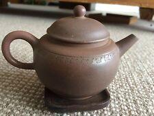 Antique 1940's-1950's China Yixing Zisha Chen Ding He 280cc Collectibles Teapot