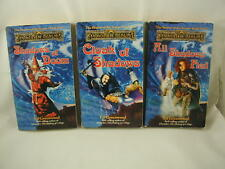 Forgotten Realms Shadow of the Avatar 3 Books Dungeons & Dragons Mel Greenwood