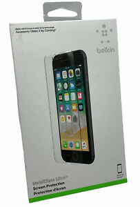 Genuine Belkin Tempered Glass Screen Protector For Apple iPhone 6/6s/7/8/SE2020